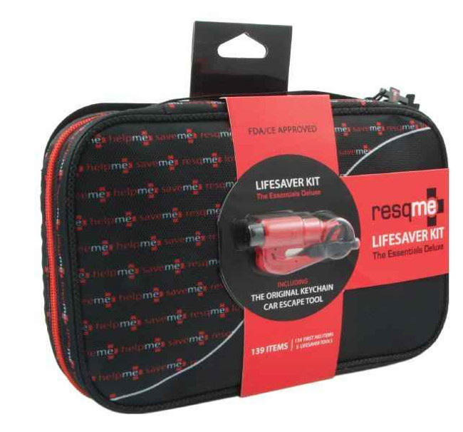 Resqme The Essentials Deluxe Lifesaver Kit ESEENTIALS-DLX 630932811117