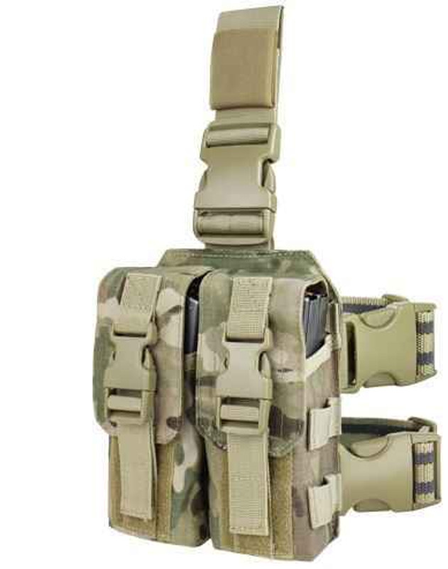 Condor M4 Drop Leg Mag Pouch - MultiCam MA65-008 022886065089