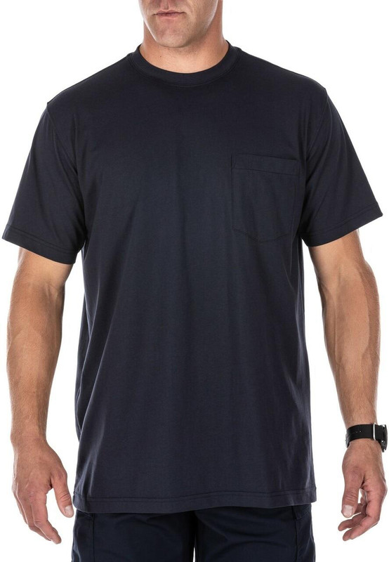 5.11 Tactical Professional Pocketed T-Shirt - Untucked Front