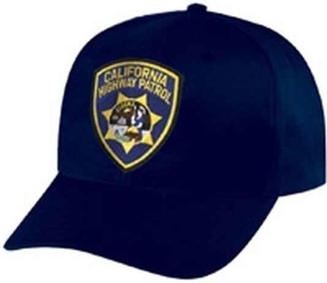 Heros Pride CHP #5392 on Navy Cotton Twill Cap 6792AT - LA Police Gear