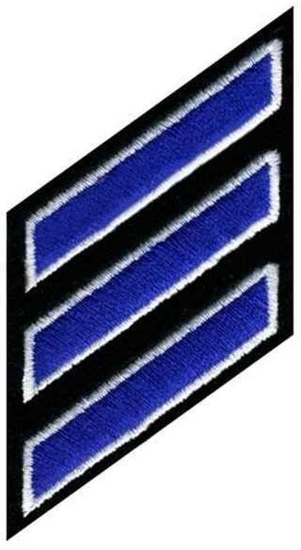 Heros Pride Hashmarks Royal/White/Black HP-5380 - LA Police Gear