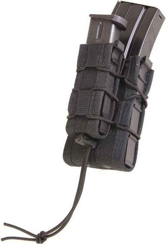 High Speed Gear Double Decker TACO Modular Single Rifle and Pistol Magazine Pouch DOUBLEDECKTACOTA