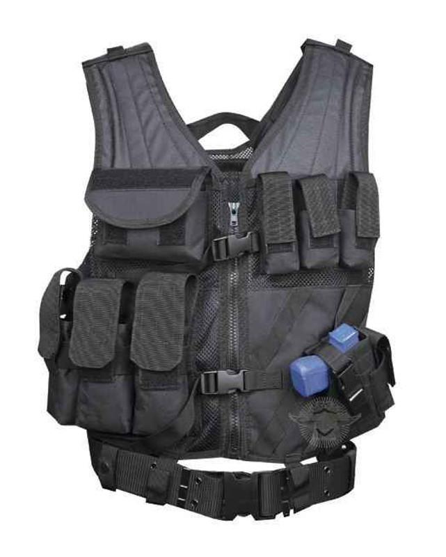 5ive Star Gear CDV-5S Cross Draw Vest black