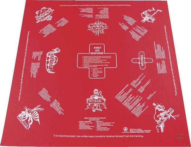 5ive Star Gear First Aid Survival Handkerchief FA-SCARF-3767000 690104430973