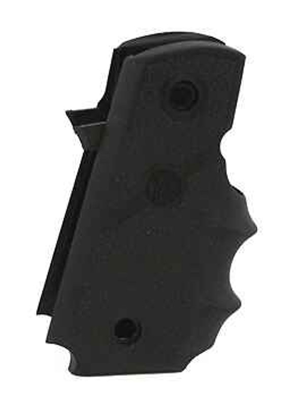 Hogue Grips Para Ordnance P-12 Rubber Grip with Finger Grooves 9878 743108120002