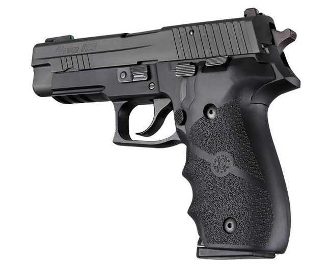Hogue SIG SAUER P226 Rubber Grip with Finger Grooves Black 36816 743108260005
