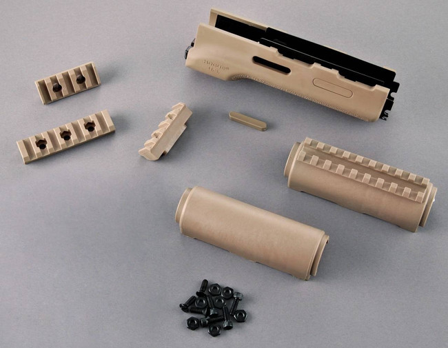 Hogue AK-47/AK-74 Standard Chinese and Russian Forend with Flat Dark Earth Rubber Gripping Area 74304 080926743045