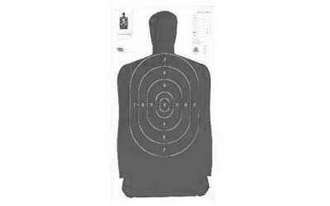 Hoppes 9 B27B Target 35x45 Silhouette 100/Pack B27B B27B 0026285512199