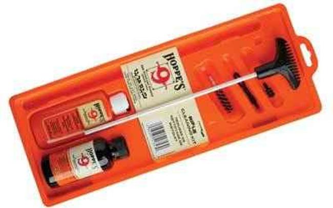 Hoppes 9 Cleaning Kit 22/223Cal Rifle Clam Pack U22B U22B 026285512915