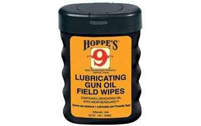 Hoppes 9 Field Wipes Cloth Plastic 1631 1631 26285516319