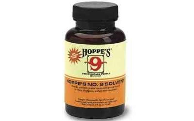 Hoppes 9 Solvent Liquid 4 oz 10/Box Plastic Bottle 904 904-HO 26285510416
