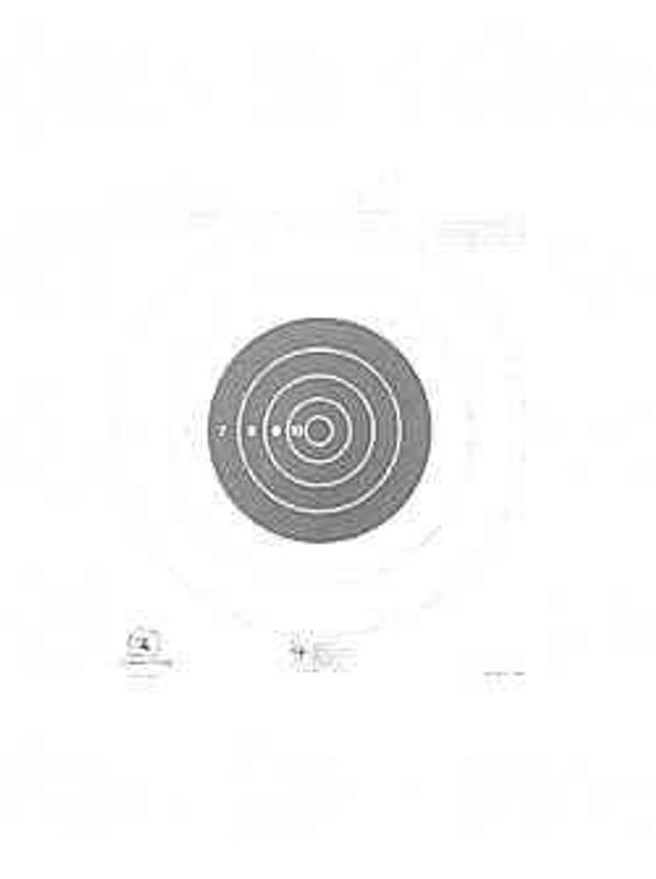 Hoppes 9 NRA B16 Target 25 Yd Slowfire 20/Pack B16 B16 26285511628