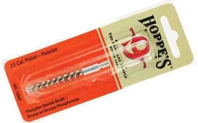Hoppes 9 Phosphor Bronze Brush .22 Cal Pistol Blister Card 1306P 1306P 026285513936