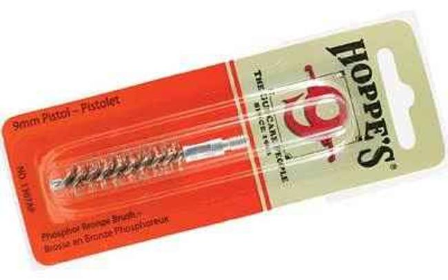Hoppes 9 Phosphor Bronze Brush 9mm Pistol Blister Card 1307AP 1307AP 026285514148
