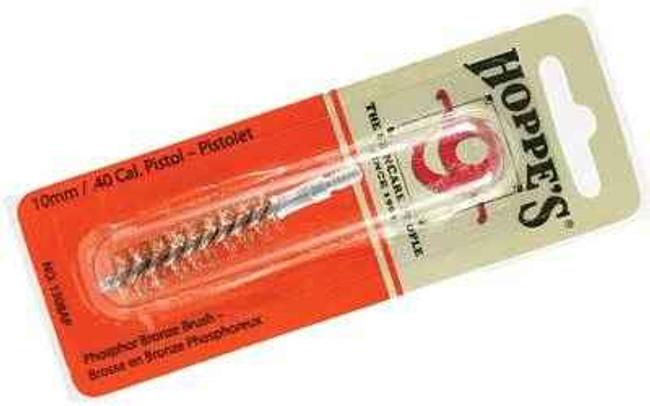 Hoppes 9 Phosphor Bronze Brush 10mm/40 Pistol Blister Card 1308AP 1308AP 026285513912