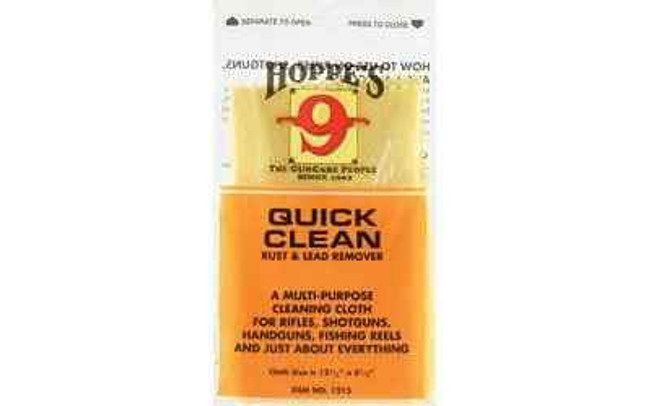 Hoppes 9 Quick Clean Cloth Rust and Lead Remover Po 1215-HOP 026285510607
