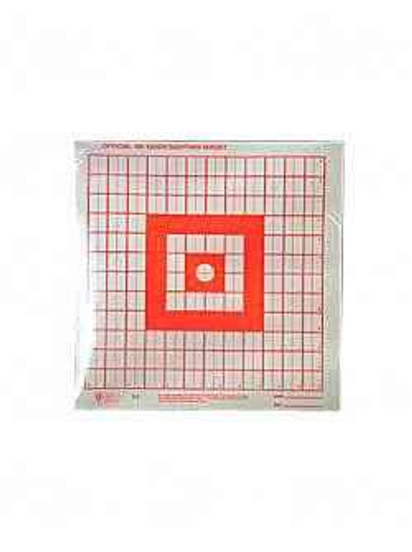 Hoppes 9 Red Flourescent Target 1 Sight-In 20/Pack S5 S5 26285511765