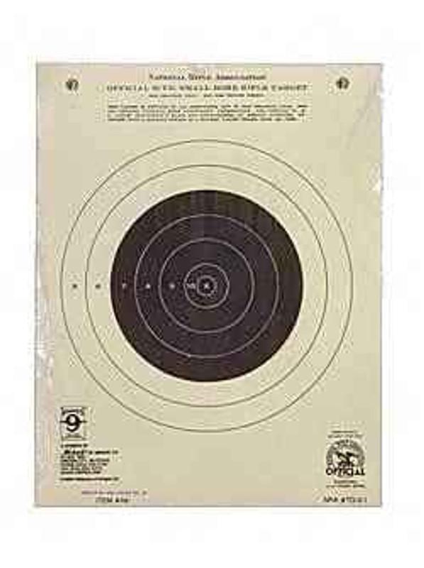 Hoppes 9 Rifle NRA TQ-3/1 Target 50 Yd Single Bullseye 20/Pack A9 A9 26285511611