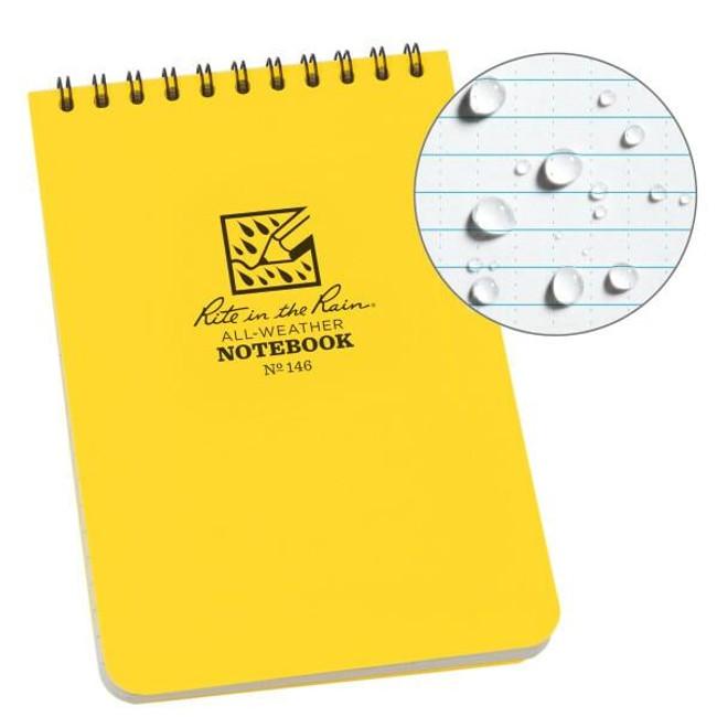Rite in the Rain 4x6 Pocket Top Spiral Notebook 146-RI