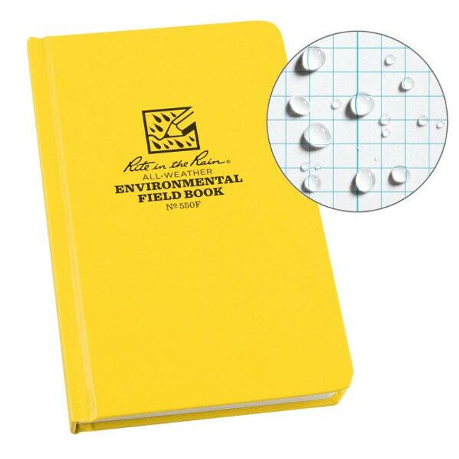 Rite in the Rain Environmental Fabrikoid Bound Book 550F