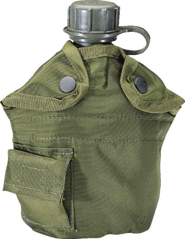 5ive Star Gear G.I. Spec 1-Quart Canteen Cover OD Green