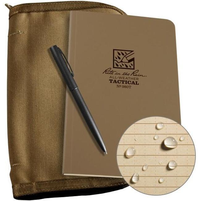 Rite in the Rain Field Book  Kit - Tan 980T-KIT