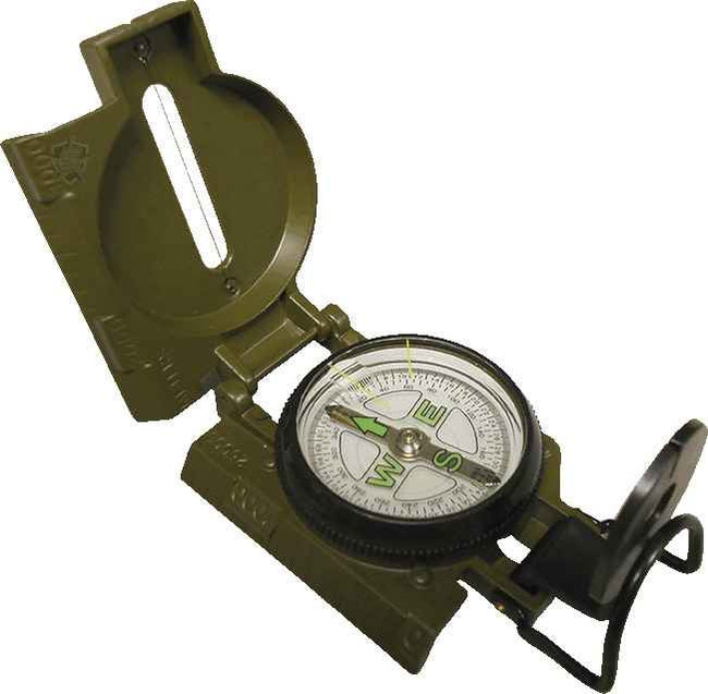 5ive Star Gear Lensatic Metal Marching Compass