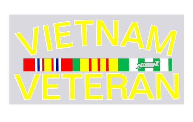 Rothco Vietnam Vet Decal 1228-RO 767720205404