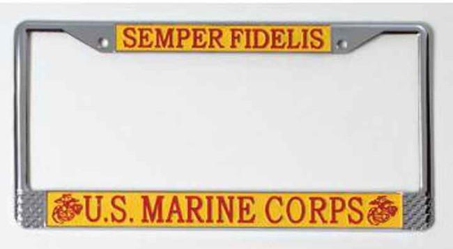 Rothco US Marines License Plate Frame 1935-RO 767720813005