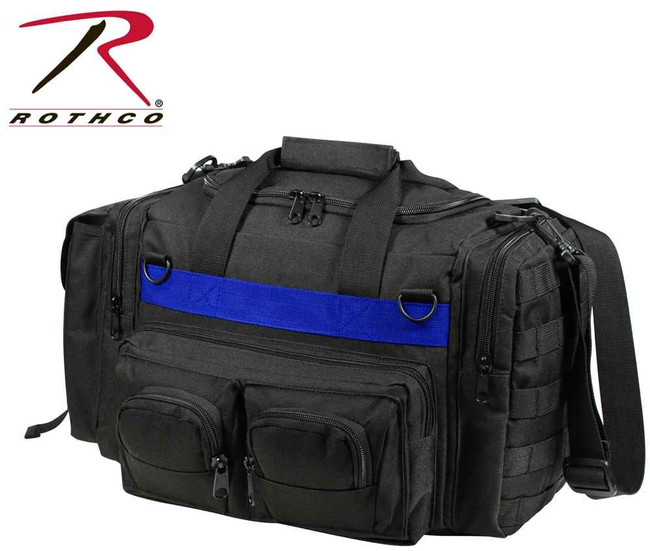 Rothco Black Concealed Carry Bag w/Thin Blue Line 2656 613902265615