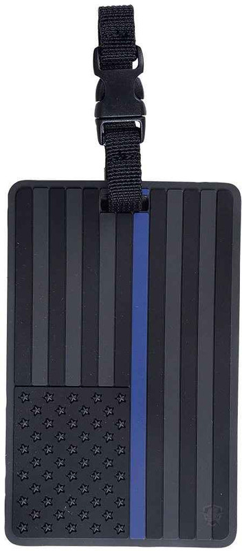 5ive Star Gear Luggage Tag Thin Blue Line