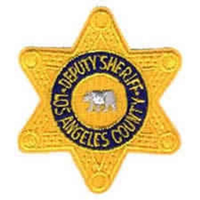 Heros Pride LA County Deputy Sheriff Star Patch 5000-HP