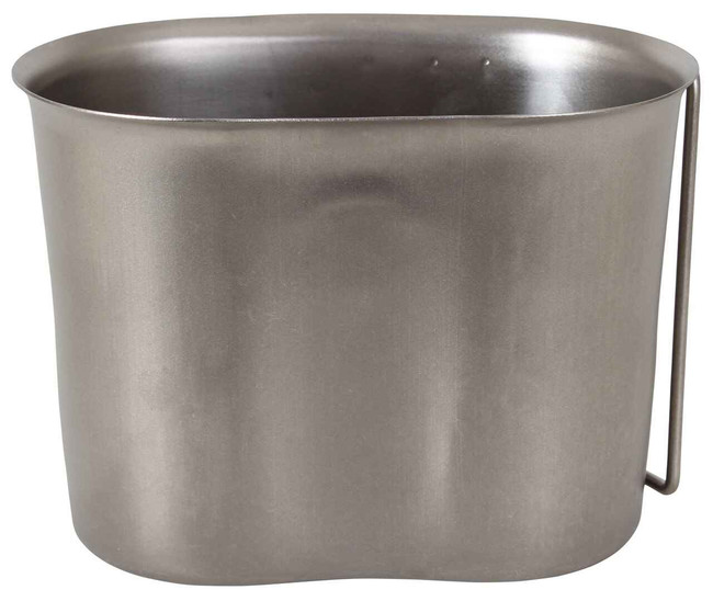 Rothco GI Style Stainless Steel Canteen Cup 512-RO 613902051201