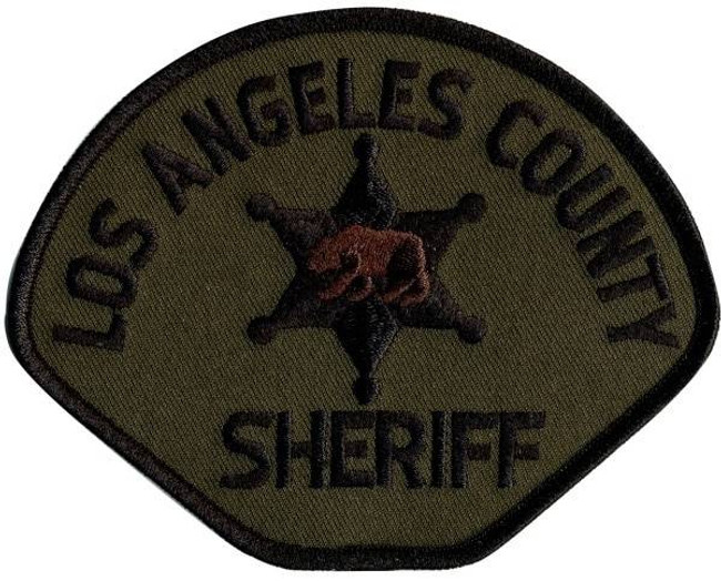 Heros Pride LA County Sheriff Subdued Shoulder Patch 5009-HP