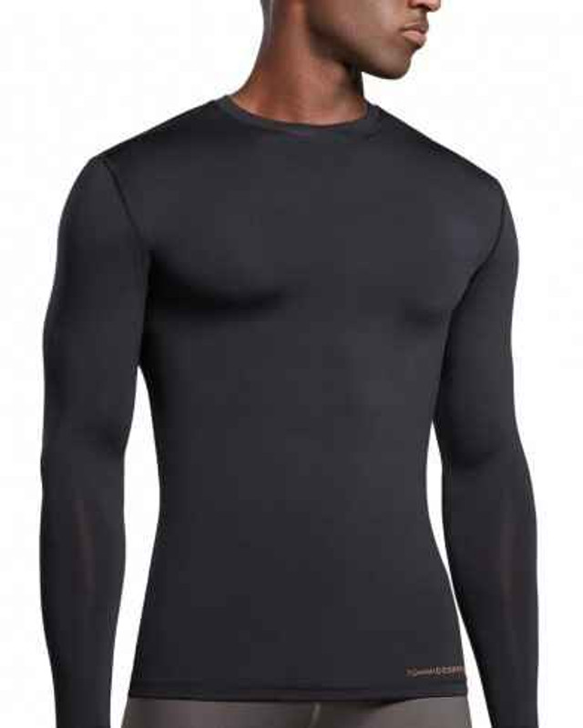 Tommie Copper Mens Recovery Compression L/S Crew Neck Shirt 0821MR