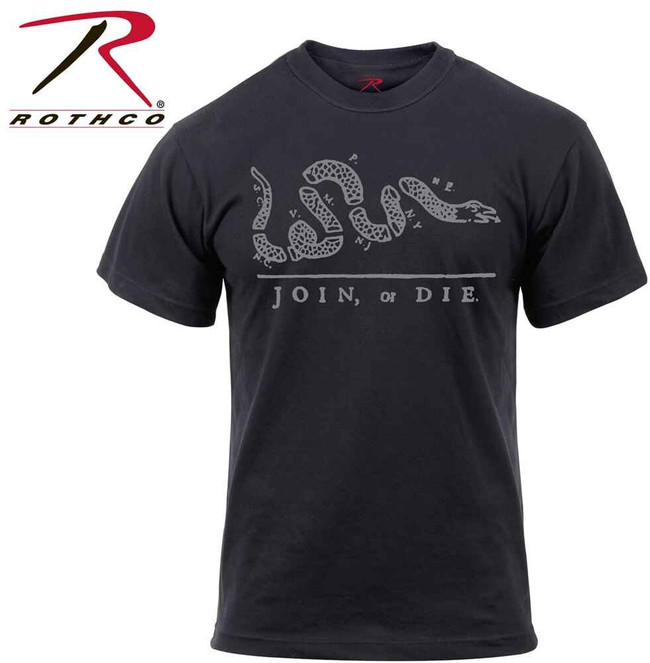 Rothco Join or Die T-Shirt 61580