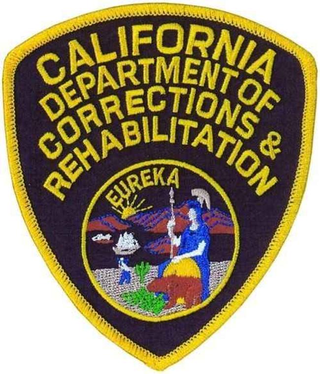 Heros Pride Mens California Department of Corretions and Rehabilitation Shoulder Patch HP-8060 8060-HP