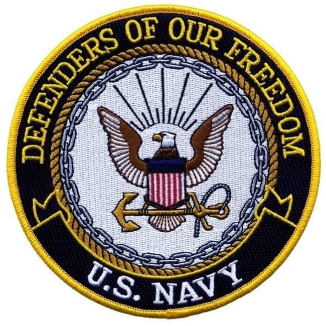 Heros Pride Defenders Of Our Freedom - Navy - 12 Circle 8239B 849204000016 - LA Police Gear