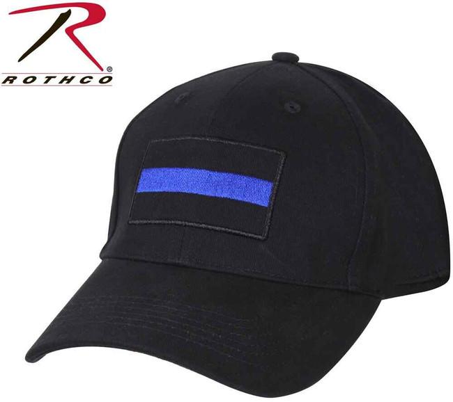 Rothco Thin Blue Line Low Profile Insignia Cap 99886 613902998865