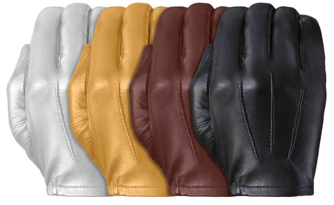 Tough Gloves TD302 Ultra Thin Patrol Cabretta Unlined Leather Gloves TD302