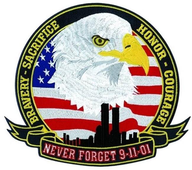 Heros Pride Never Forget 9-11-01 - 12 Wide 8477B - LA Police Gear