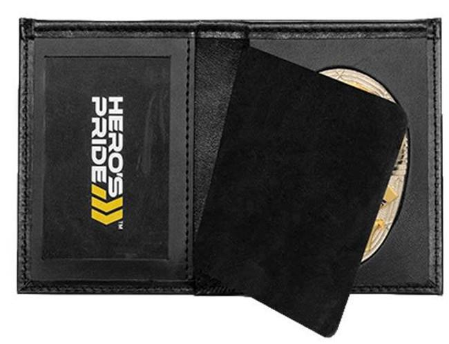 Heros Pride Deluxe Bi-fold Badge Wallet with ID window 9105