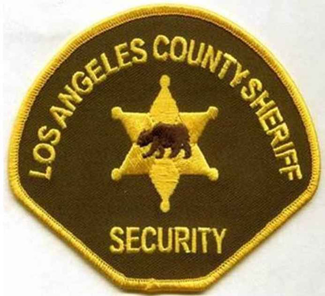 Heros Pride LA County Sheriff Security Patch X185387A
