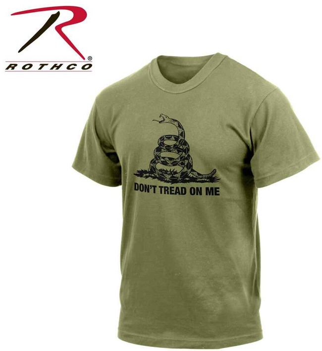 Rothco Dont Tread On Me Vintage T-Shirt DTOM-RO
