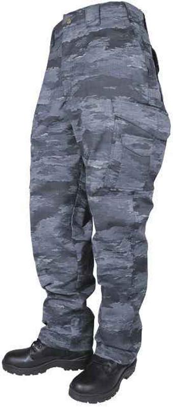 TRU-SPEC A-TACS LE-X Original 24-7 Series Tactical Pants with DropN Pocket 1013-TR