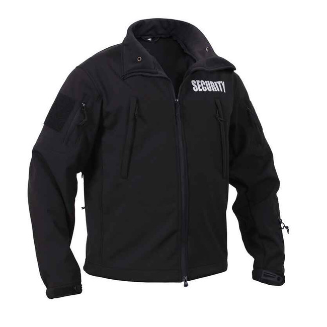 Rothco Security Spec Ops Soft Shell Jacket SECURITY