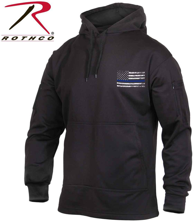 Rothco Thin Blue Line Concealed Carry Hoodie TBLCCH