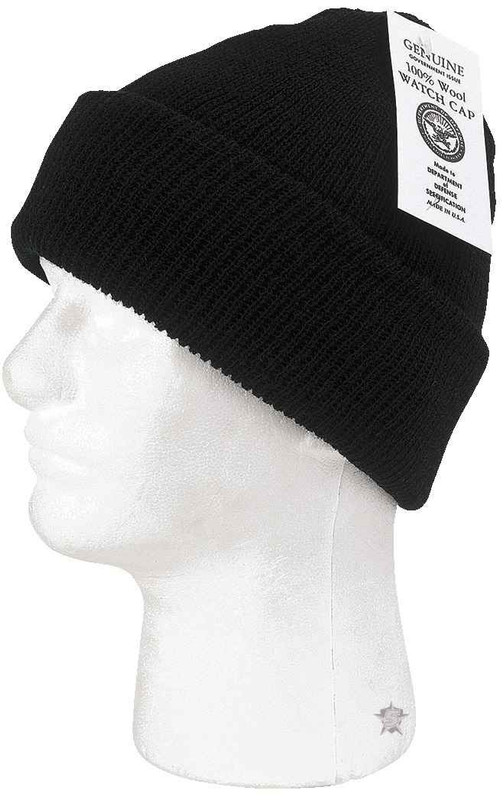 5ive Star Gear Wool Watch Cap black