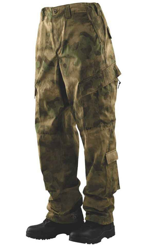 TRU-SPEC A-TACS FG Tactical Response Uniform Pants front