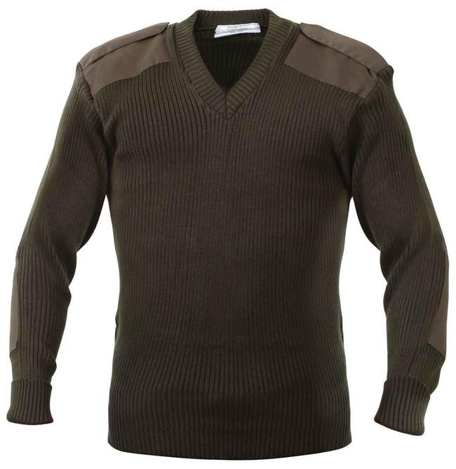 Rothco GI Style Acrylic V-Neck Sweater VSWEATER
